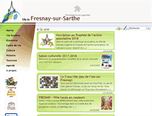 Tablet Preview of fresnaysursarthe.fr